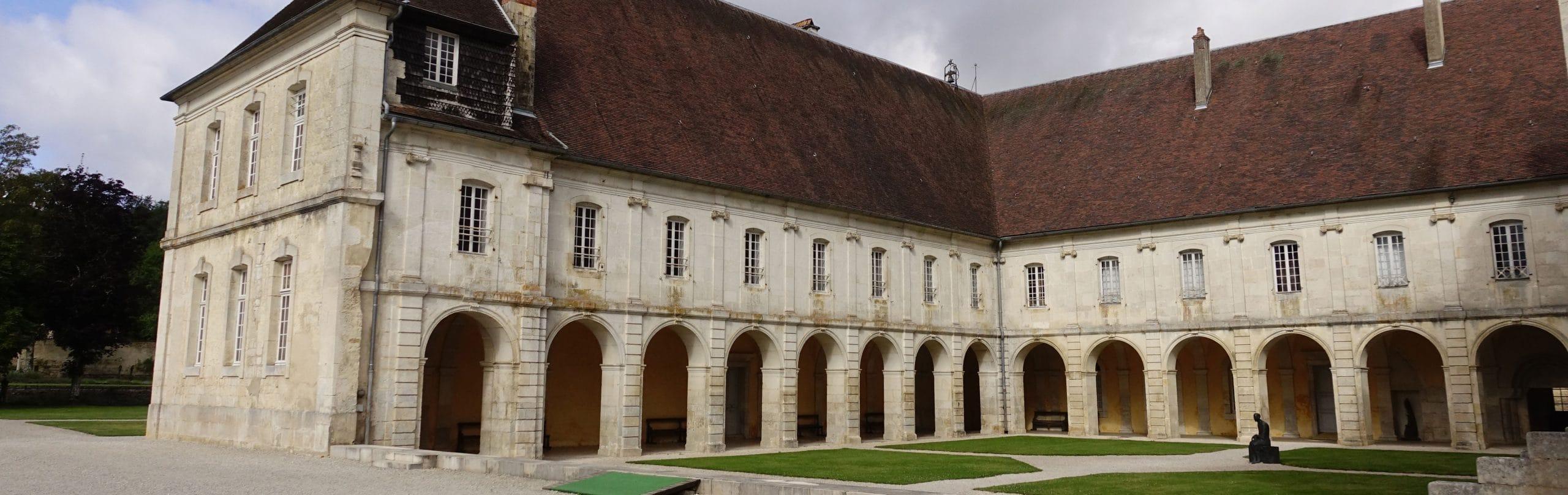 cloître, abbaye d'Auberive